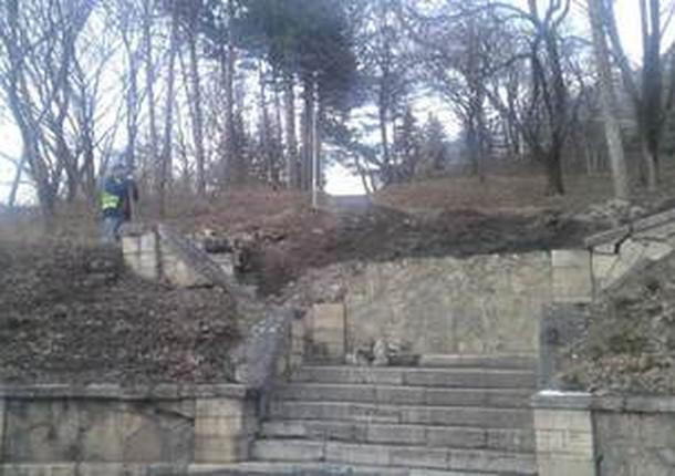 В Пятигорске началось благоустройство Эммануэлевского парка